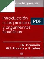 Cornman, Pappas, Lehrer-Introduccion a Los Problemas y Argumentos Filosoficos