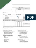 Form Evaluasi Supplier