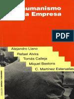 Llano, Alejandro y Otros - El Humanismo en La Empresa