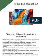 community building through art