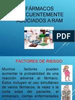farmacos frecuentes asociados a RAM