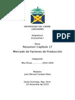 Mercado de Factores Productivos (Max)