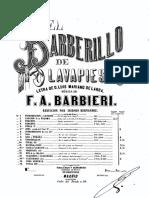 Cancion Paloma Zarzuela -El Barberillo