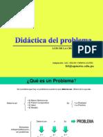 Didáctica Del Problema ES - DeBE SER[1]