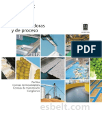 Catalogo Esbelt 2012 Bandas Transportadoras