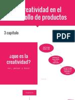 La Creatividad en El Desarrollo de Productos