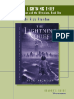 Percy Jackson and the Lightning Thief Discussion Guide