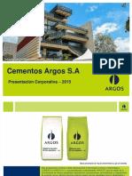Presentación Corporativa Cementos Argos_Dic 2015_VF