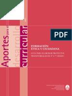 Aportes - Formacion Etica 2do Ciclo