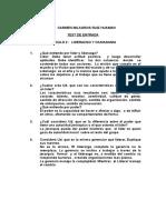 Examen de Liderazgo y Ciudadania