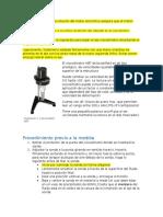 Manual de operación de  Viscometro brookfield