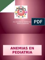 Anemias en Pediatria 1