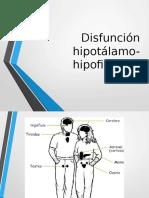 DISFUNCION HIPOTALAMO-HIPOFISIARIAS