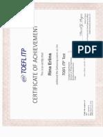 TOEFL Itp Test