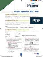 X_4 Año_S7_Fracciones Algebraicas, MCD y MCM