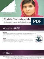 malala yousafzai presentation
