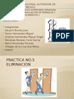PRACTICA No.5 Eliminación de sulfacetamida sódica en rata