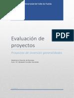Proyectos de Inversion-Ensayo