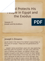 Genesis 37 - Joseph and His Brothers
