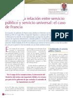 La Compleja Relación Entre Servicio Público y Servicio Universal (Michel Berne)