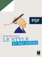 Le Style Et Ses Pieges