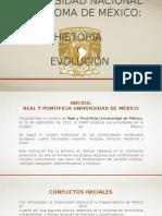 Historia de la UNAM