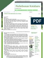 Informasi Perkebunan Kotabaru_ Format Dokumen Rencana Usaha