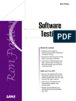 Ron Patton - Software Testing