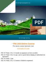 PHI 103 Bright Tutoring/phi103.com