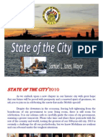 2010 State of the City Postcards