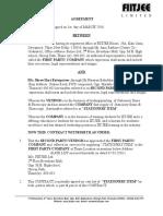 Agreement for Shree Hari (3)