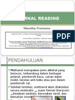 Journal Reading Tropic Infection- Wendhy Pramana-Methanol Toxicity