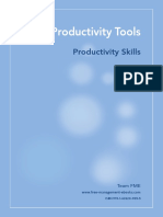Productivity Tools for maximizing potential