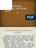 Audit Internal Kontrol Dan Risiko Audit