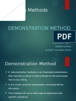 Refer Demonstration