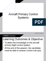Aircraft Primary Control