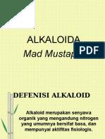 Farmako Alkaloid