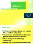 Creative Side and Message Strategy