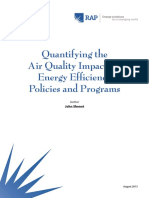 Quantifying the Air Quality Impacts of Energy Efficiency