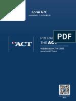 ACT Form 67C Lovi