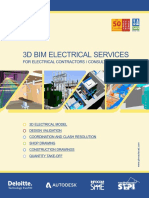 3D BIM ELECTRICAL SERVICES FOR ELECTRICAL CONTRACTORS