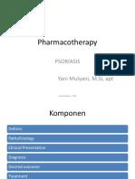 Pharmacotherapy Psoriasis