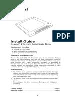 Crucial 2 5 Inch Ssd Install Guide En