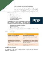 Development of Management Information System