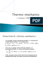 Thermo Mechanics