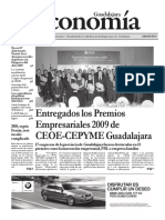 Periódico Economía de Guadalajara #29 Noviembre 2009