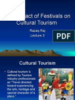 The Impact of Festivals Lecture 3.1