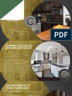 Armoires de cuisine en mélamine ou thermoplastique? Les prix