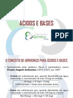 Acidos e Bases - UFMG