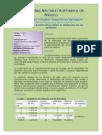 Informe Acetilcolina